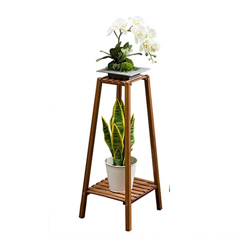 TREEECFCST Greenhouse Shelving Outdoor Plant Stand Plant Stands Outdoor Wooden Flower Rack Indoor Shabby Chic Tower-shaped Ornaments Green Plants H-75cm Outdoor Shelf F006011