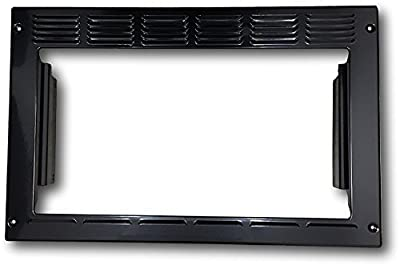 "Advent PMWTRIM Trim Kit, Black For use with MW900B and MW912B Built-in Microwave Ovens, Made of Steel, Outside Dimensions: 23.25""W x 15""H x 2.75""D, Inside Opening Dimensions: 19""W x 10.5""H"