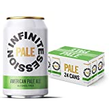 Infinite Session - Alcohol Free Beer - Pale Ale - Low Calorie Craft Beer - Natural Ingredients & Vegan Beer (24 x 330ml Pale Ale Cans)
