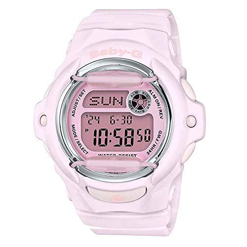 Casio Women's Baby-G Digital Watch, Pink (PNK/4), One Size