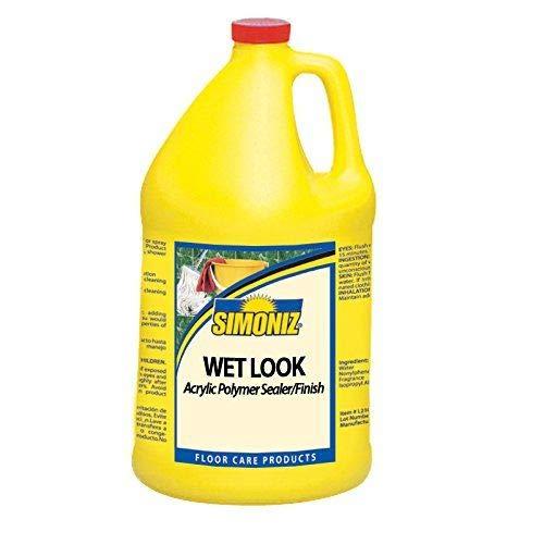 Simoniz Wet Look Floor Sealer and Finish, 1 gal