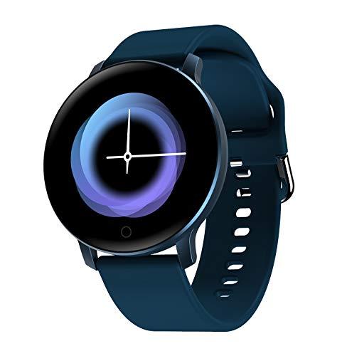 LOVOVR X9 Smartwatch, 1,3 Zoll HD IPS Farbbildschirm Herzfrequenz Blutdruck Schlafüberwachung Sportuhr, Fernbedienung Foto Multifunktions-Fitness-Tracker