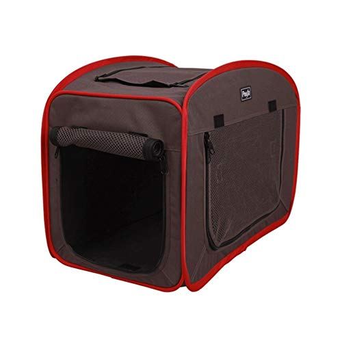 Beds QWER Dogs Portable Pet Cat Carrier Cat Bed Hierarchization Dog Cave Bed with Mat Nest of Pets