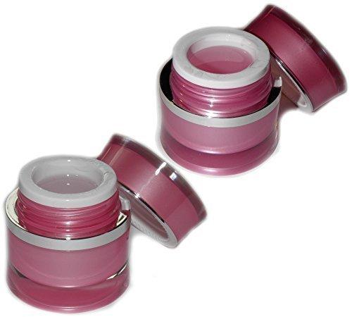 Gel Fibra di Vetro ' Beautyline ' 30ml Bassa Acidità Chiaro + Rosa/Ricostruzione