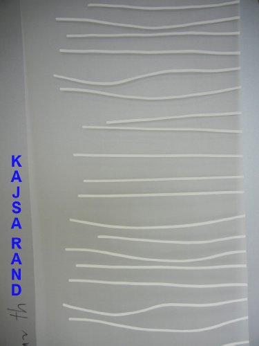 IKEA KAJSA RAND Schiebegardine / Flächenvorhang , Farbe weiss , 60 cm breit , 300 cm hoch , leicht kürzbar