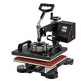 Smarketbuy Digital Multifunctional Heat Press Machine 12' x 10' Heat Transfer Machine for T Shirts (10x12)