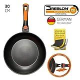 ROCKMAG II Sartén con Mango Desmontable 30 cm de diámetro de Berela, Sartén Greblon Antiadherente Eco PFOA Free con tecnología Alemana.