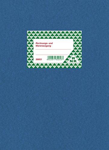 RNK 30053 - Rechnungs- und Warenausgang - Buch, 80 Seiten, DIN A4, 1 Stück