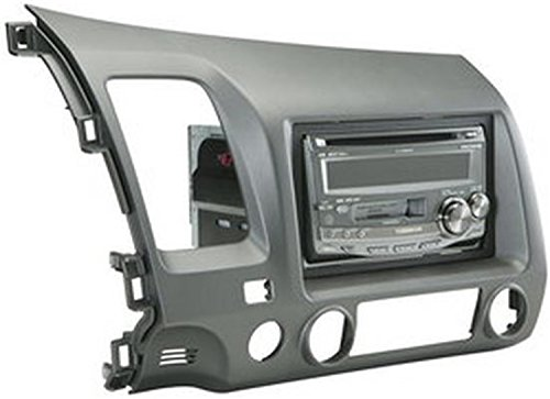 SCOSCHE HA1561DGB Single/Double DIN Car Stereo Dash Kit for 2006-UP Honda Civic