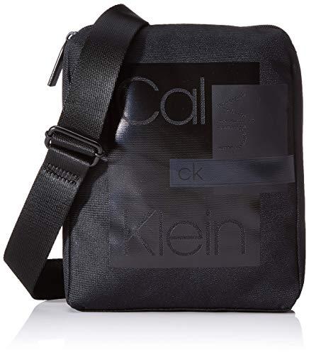 Calvin Klein Heren Layered Cnvrtbl Flat Crossover schoudertas, 0,1 x 0,1 x 0,1 centimeter