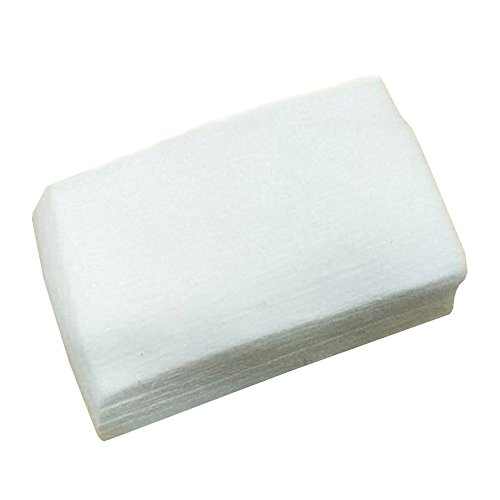 300pcs Lint Free Nail Art Gel Polish Remover Cotton Pad Nail Wipe, Beauty Item Accessories for Women