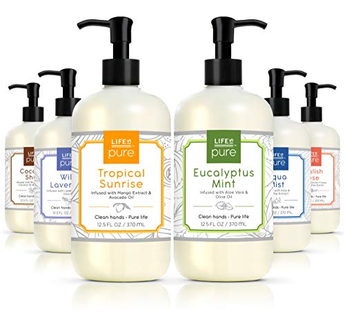 Life Is Pure, 6 Fresh & Soothing Scents, Variety Pack,...