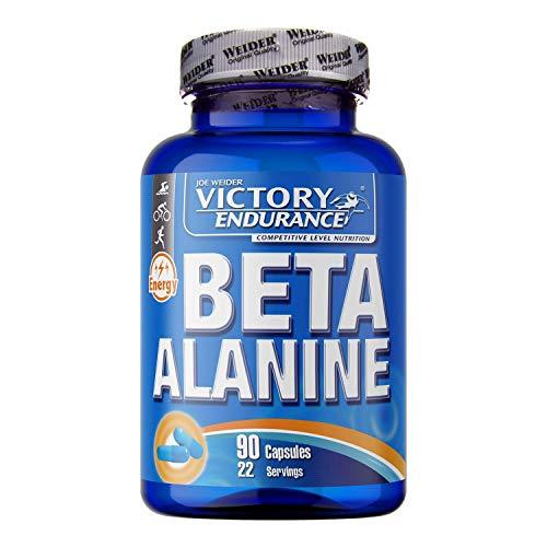 Victory Endurance Beta Alanine. Aumenta la resistencia, mejora la contracción muscular y retrasa la fatiga (90 Caps)