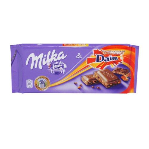 Milka Daim mit Daim Stückchen - 1 x 100 g