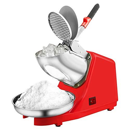 Jiamuxiangsi Trituradora de hielo El fabricante de cono de nieve for el hogar Máquina for hacer batidos multifuncional Licuadora automática Trituradora de hielo Máquina de hielo comercial Manual de ti