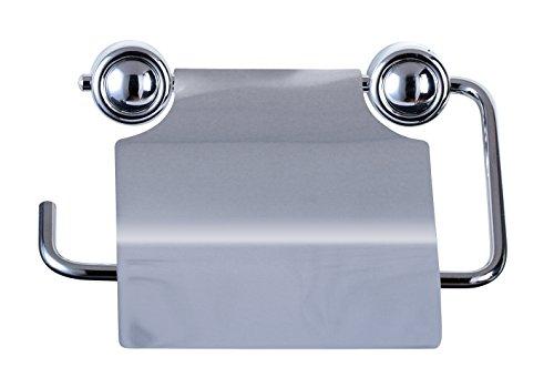 Ribelli WC-Papierhalter Edelstahl Klopapierhalter Klopapier Toilettenpapierhalter