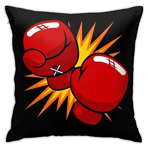 ocaohuahuaba Boxhandschuhe Überwurf Kissenbezüge für Couch Bett Sofa 45,7 x 45,7 cm