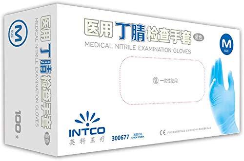 PMTBHEinweg-Nitrilhandschuhe, puderfreie Testhandschuhe, Schutzhandschuhe für das Haushaltslebensmittellabor