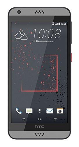 HTC 99HAHW033-00 Desire 530 Smartphone (4G) Gris foncé
