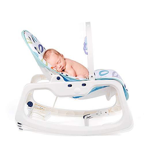 Qilo Baby Swing eléctrico Cuna Música Cuna balancín del bebé con la...
