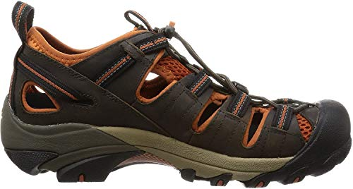 Keen Arroyo II, Herren Sandalen Trekking- & Wanderschuhe, Grün (Black Olive/Bombay Brown), 41 EU (7.5 Herren UK)
