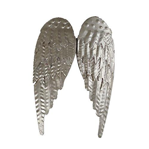 Casablanca Kerzenstecker Wings Metall,silberH.10cm
