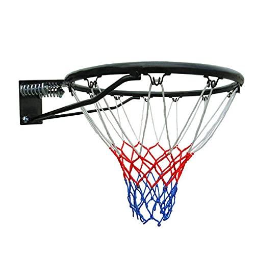 Trihedral-X Aro de Baloncesto 6mm Red del Acoplamiento Duradero Red del Baloncesto de Nylon Resistente Neto del aro de llanta Objetivo de Malla Adapta Llantas estándar de Baloncesto