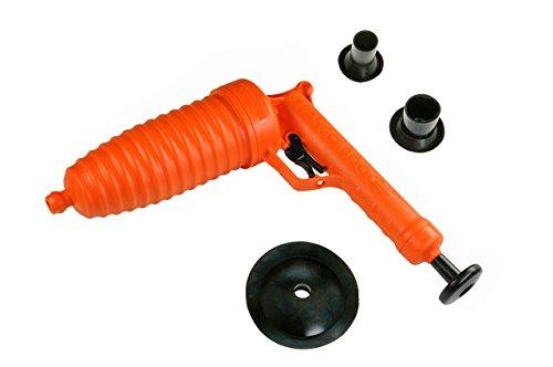 Sturalavandini - Sturatubature PANGO con funzionamento a pressione - Libera ogni tipo di ostruzione da qualsiasi tubatura otturata/intasata (3 Ventose)