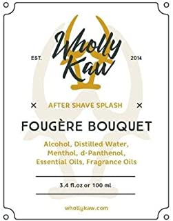WhollyKaw After-Shave Splash, Fougere Bouquet