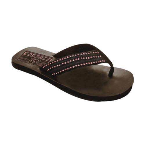 Black Medium Chaussures Tong F