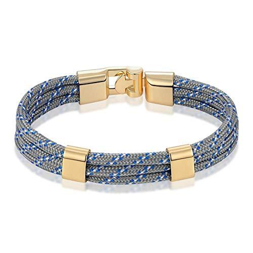 YIYYI HQXIZ armband zwart lederen armband surfen zeeman mannen armband mode sieraden vriendschap armband sieraden sieraden