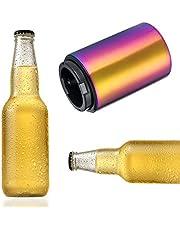 Yuehuam Abrebotellas de Cerveza de Acero Inoxidable con Apertura Magnética Automática Abrebotellas Empuja Hacia Abajo Dispositivo de Cocina - Se Abre en Medio Segundo