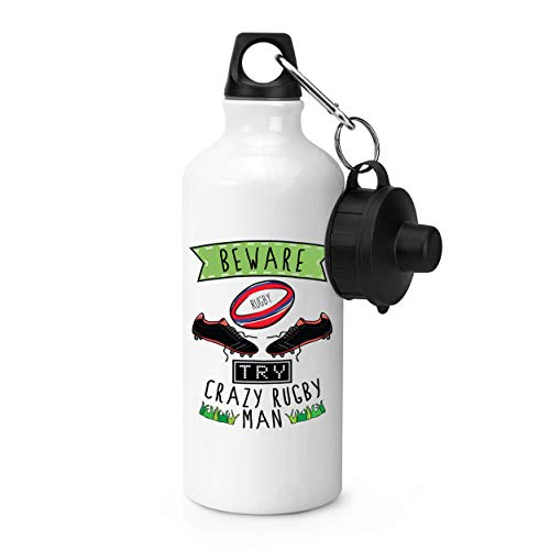 Gift Base Attention Fou Rugby Homme Bouteille Sports