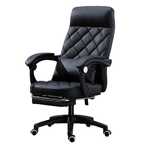 WCJ Computerstoel, hoge executive bureaustoel, verstelbare bureaustoel, huishoudstoel, achteruitkijk, leunstoel, conferentiestoel, winkel, luie vrijetijdsstoel