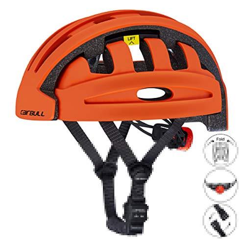 Plegable Bicicleta Casco, Ajustable Montaña Bici Casco, Superligero Casco de Ciclo, con...
