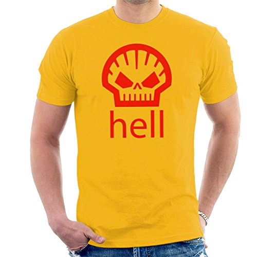 Hell Shell Logo As Worn by Heath Ledger Men's T-Shirt