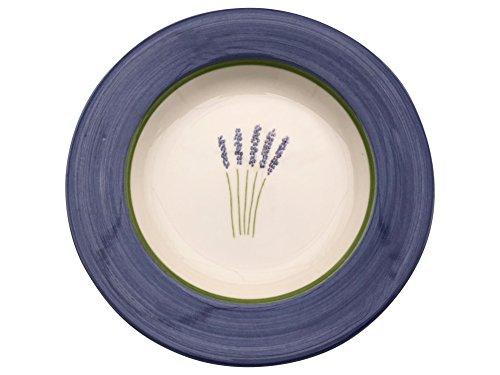 Zeller Céramique Assiettes creuses Fleur de Provence Assiette Assiette vaisselle
