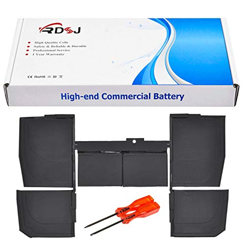 """A1527 A1705 Laptop Battery Compatible with MacBook Retina 12"""" A1534 2015 MK4M2LL/A MJY32LL/A MF855LL/A MK4N2LL/A MJY42LL/A MF865LL/A 661-02267 7.55V 39.71Wh"""