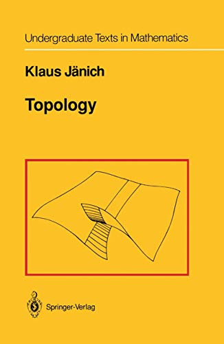 Compare Textbook Prices for Topology Undergraduate Texts in Mathematics 1st ed. 1984. 2nd Corr. printing 1994 Edition ISBN 9780387908922 by Jänich, K.,Levy, S.