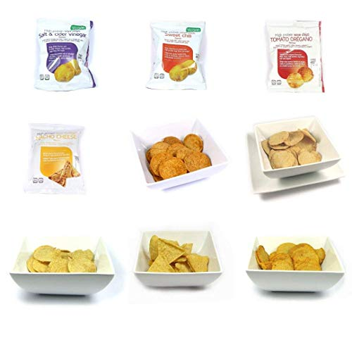 Billy's Diet | Diet Snacks Variety Pack | Low Calorie - Low Carb - High Protein - Vegetarian | Pack of 7 x 30g