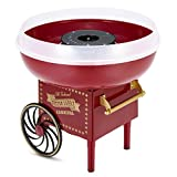 Cotton Candy Machine, Cotton Candy Maker for Kids Candy Machine Maker Sugar Hard Candy Maker, Electric Cotton...