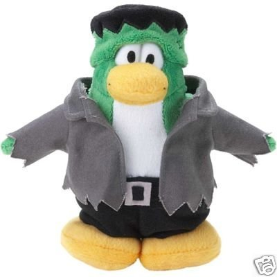 Disney Club Penguin Limited Edition Frankenpenguin 6 Plush W/online Code by Club Penguin