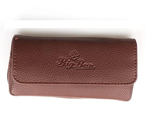 Porta pipa retro portátil tabaco fumar pipa titular, paquete de tubería, bolsas de tubería, bolsa de almacenamiento