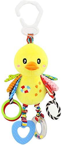 Goodbox Baby Spielzeug, hochwertiges Kleinkindspielzeug - Greifling Anhänger zur Stärkung der Eltern-Kind-Beziehung - ab 0-24 Monate (Küken)