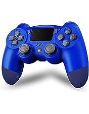 Maegoo PS4 controller, draadloos, Bluetooth, PS4 gampad joystick voor PS4/Slim/Pro, gamepad met dubbele vibratie, 6 assen, touchscreen, audio