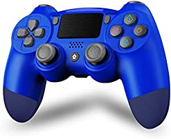 Maegoo PS4 controller, draadloos, Bluetooth, PS4 gampad joystick voor PS4/Slim/Pro, gamepad met dubbele vibratie, 6...