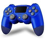 Maegoo PS4 Mando Inalámbrico, Bluetooth Controller Mandos PS4 Gamepad Joystick para PS4/Slim/Pro, Mando de Juegos con Dual Vibración, Somatosensorial de 6 Ejes, Panel Táctil, Audio
