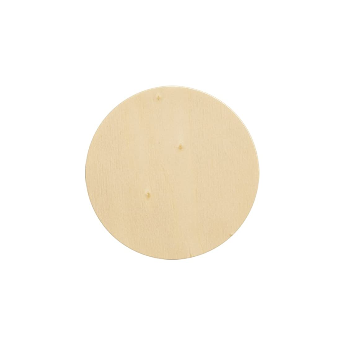 Natural Unfinished Round Wood Circle Cutout 3 Inch - Bag of 100