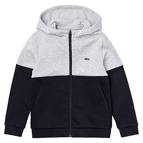Lacoste Sport Sj1161 Suéter, Argent Chine/ABIMES-Blanc, 4A para Niños