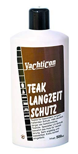 YACHTICON Teak Öl Langzeitschutz 500ml